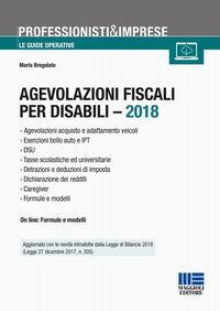 Agevolazioni fiscali per disabili 2018