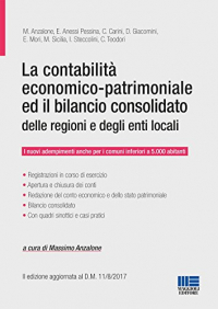La contabilità economico-patrimoniale ed il bilancio consolidato delle regioni e degli enti locali