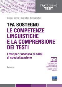 TFA sostegno. Le competenze linguistiche e la comprensione dei testi