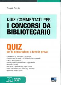 Quiz commentati per i concorsi da bibliotecario