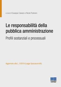 Le responsabilità della pubblica amministrazione