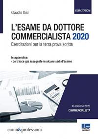 L'esame da dottore commercialista 2020