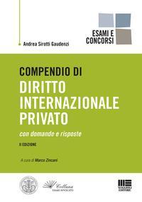 Compendio di diritto internazionale privato