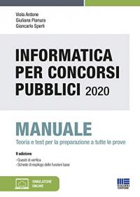 Informatica per concorsi pubblici 2020
