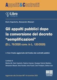 """Appalti pubblici dopo la conversione del decreto """"semplificazioni"""" (D.L. 76/2020 conv. in L. 120/2020)"""
