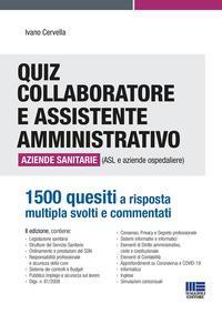 Quiz collaboratore e assistente amministrativo