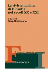 Le riviste italiane di filosofia nei secoli 20. e 21.