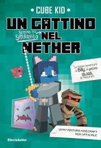Un gattino sempre più smaritto nel Nether