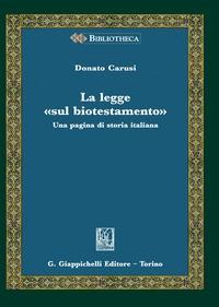 La legge sul biotestamento