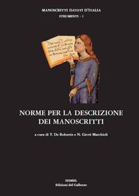 Norme per la descrizione dei manoscritti