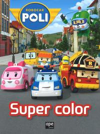 Robocar Poli super color