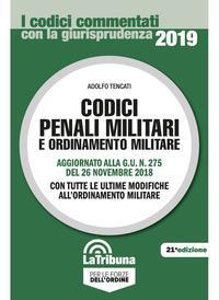 Codici penali militari e ordinamento militare