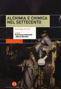 Alchimia e chimica nel Settecento