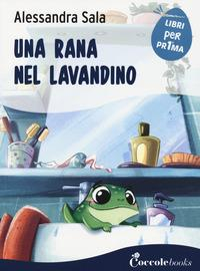 Una rana nel lavandino