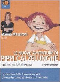 Le nuove avventure di Pippi Calzelunghe. Seconda parte [Audiolibro] / di Astrid Lindgren ; Marina Massironi legge