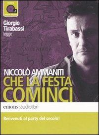 Giorgio Tirabassi legge Niccolò Ammaniti Che la festa cominci