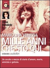 Anna Bonaiuto legge Mariolina Venezia