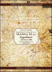 Sepolture dal 1822 al 1900