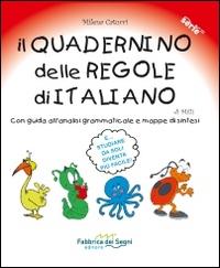 Il quadernino delle regole di italiano di Milli