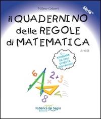 Il quadernino delle regole di matematica di Milli