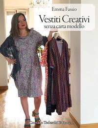 Vestiti creativi senza carta modello