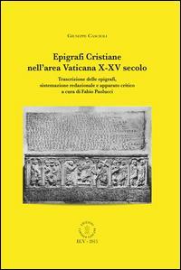 Epigrafi cristiane nell'area vaticana 10.-15. secolo