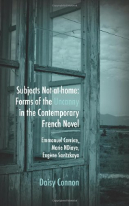 Subjects not-at-home: forms of the uncanny in the contemporary French novel