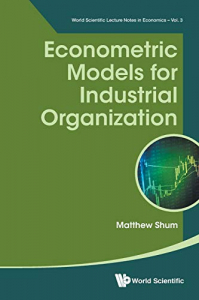 Econometric models for industrial organization