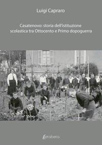 Casatenovo: storia dell'istruzione scolastica tra ottocento e primo dopoguerra